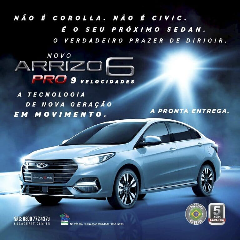 banner Oferta Chery Arrizo 6 Pro